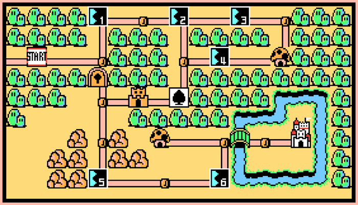 Will give Mario bros hardcore serving two