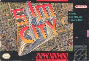 SimCity - Super Nintendo