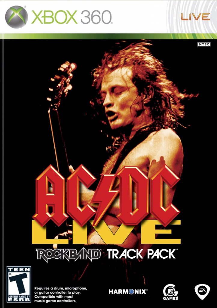 Rock Band: AC/DC Track Pack Review