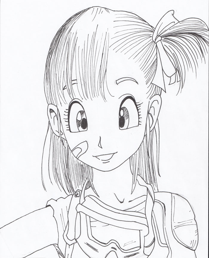 Bulma from Dragon Ball