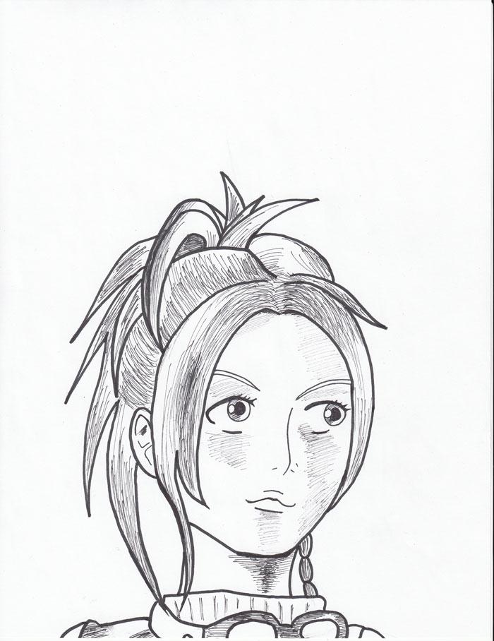 Rikku Fan Art