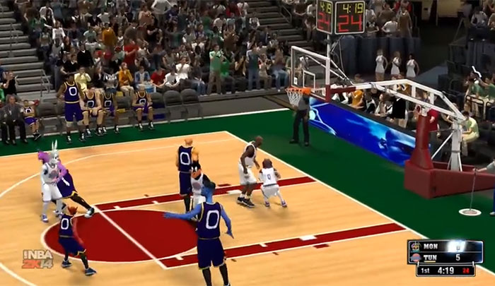 Space Jam NBA 2K14 Mod