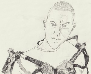 Elysium - Max Da Costa Drawing
